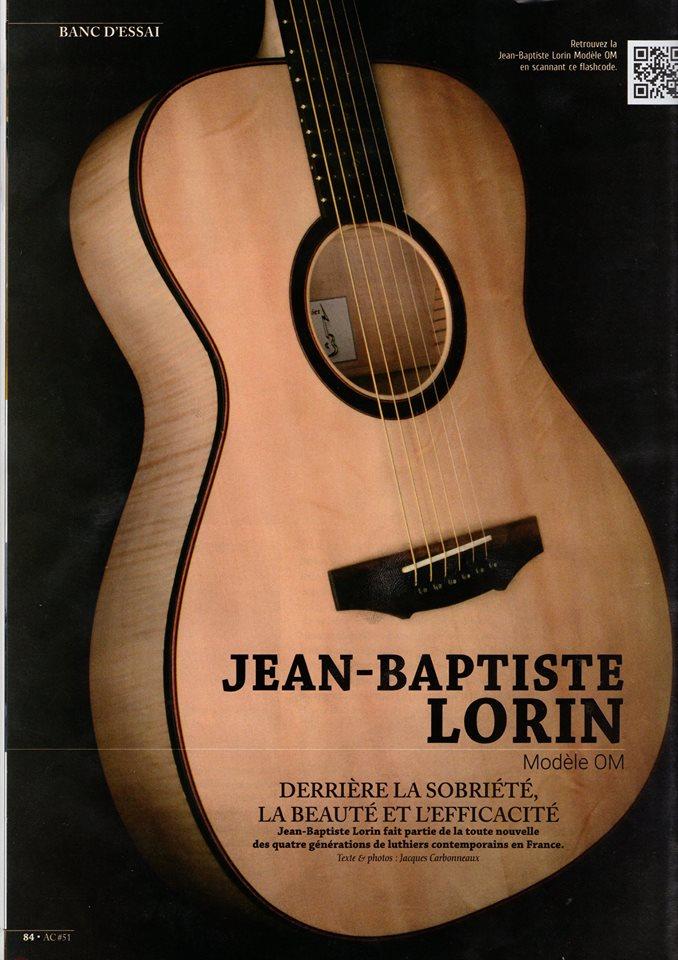 JIB Guitare - Guitarist Acoustic 1