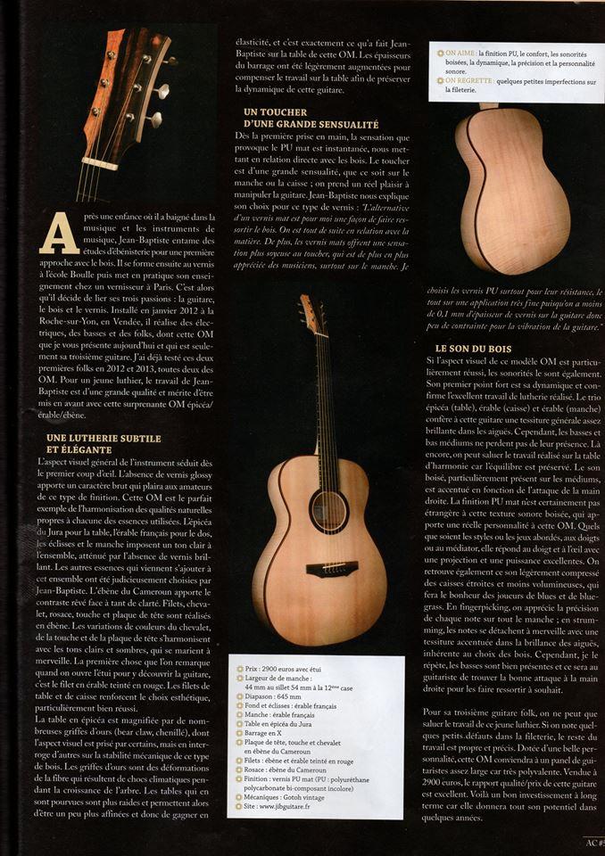 JIB Guitare - Guitarist Acoustic 2